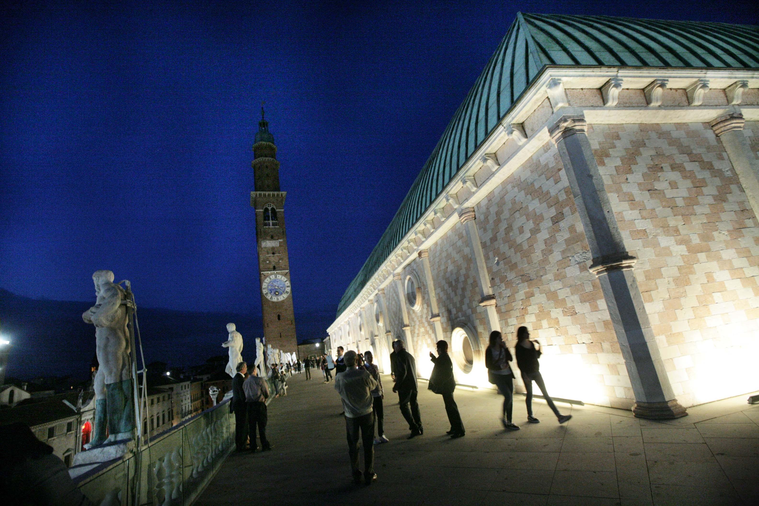 VICENZA- Basilica, numeri da record in terrazza | TViWeb