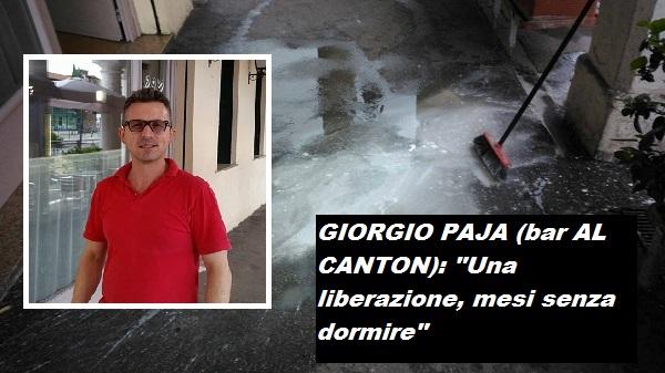 Vicenza fine dell 39 incubo preso l 39 imbrattatore notturno for Negozi arredamento vicenza