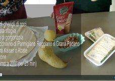 gorgonzola, noci e pere