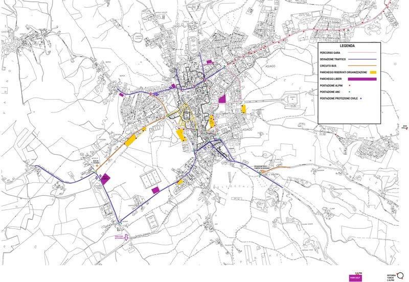 Cartina Percorso Giro D Italia 2017.Asiago Per Il Giro D Italia Cambia La Viabilita I Bus Navetta Tviweb