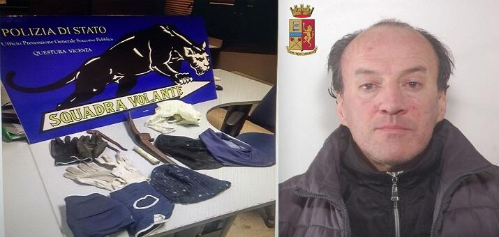 Vicenza rocambolesco arresto del lupin dei negozi tviweb for Negozi arredamento vicenza