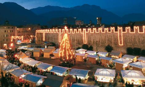 Mercatini Natale Trento.Fuoriporta Al Via Il 25mo Mercatino Di Natale Di Trento